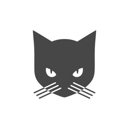 Black Cat   icon Standard-Bild - 133329048