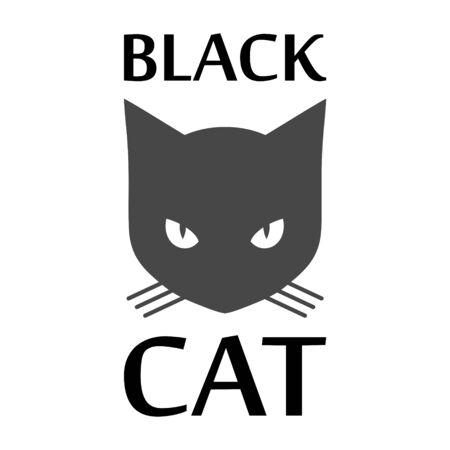 Black Cat   icon Standard-Bild - 133329101