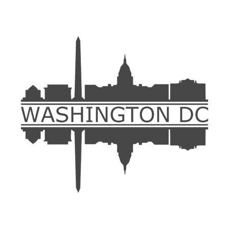 Banner von Washington DC, Washington-Symbol