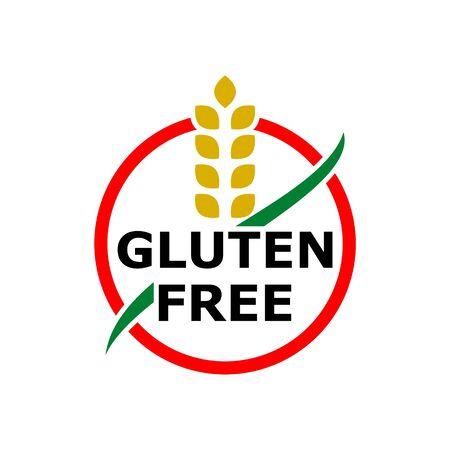 Icona senza glutine, segno semplice