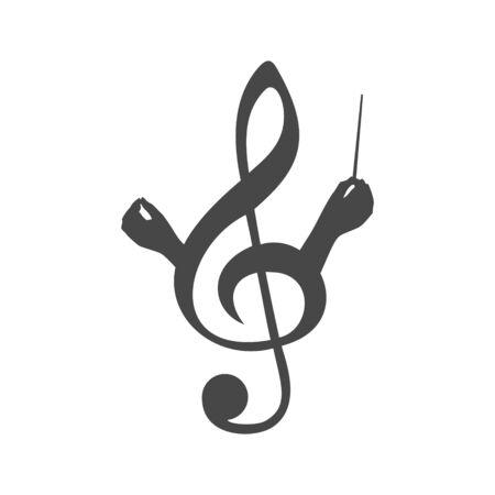 Choir guide logo, Choir icon