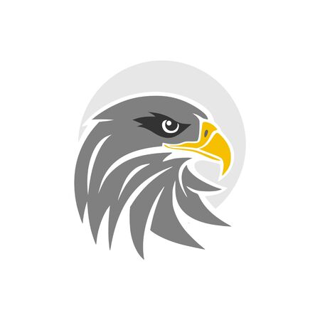 Eagle head icon Ilustrace