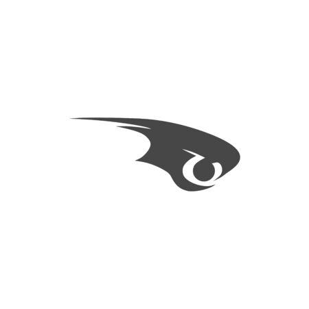 Eye of eagle icon