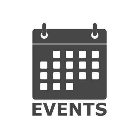 Evenementenpictogram (kalenderpictogram) Vector Illustratie
