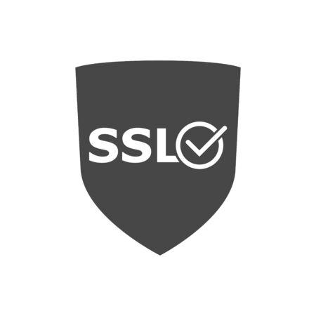 SSL Certified icon illustration Illustration