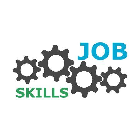 Job Skills icon, sign