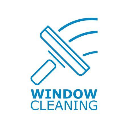 Window cleaning icon Foto de archivo - 138290487