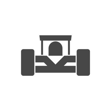 Fast car, formula icon