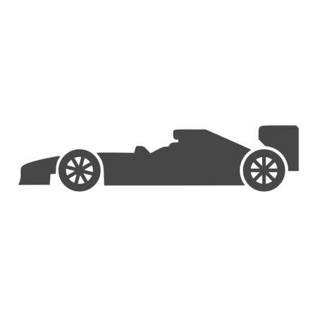Formula Race Car icon 일러스트