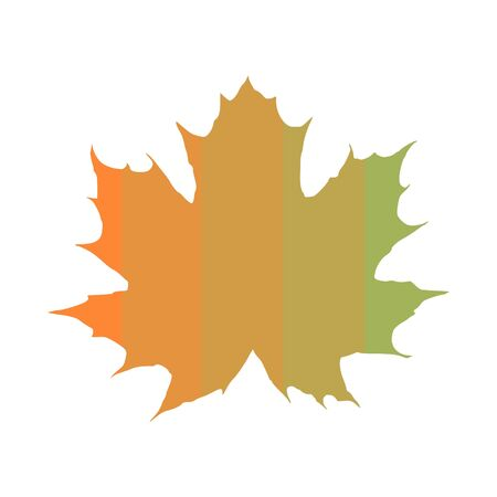 Vector autumn leaves icon Ilustrace