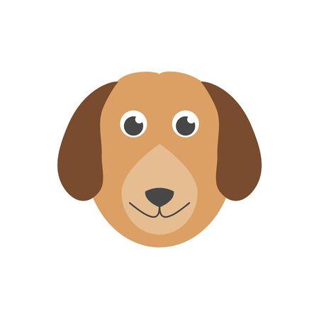 Dog icon, Face dog sign Reklamní fotografie - 138275406