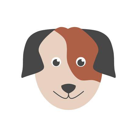 Dog icon, Face dog sign Reklamní fotografie - 138293960