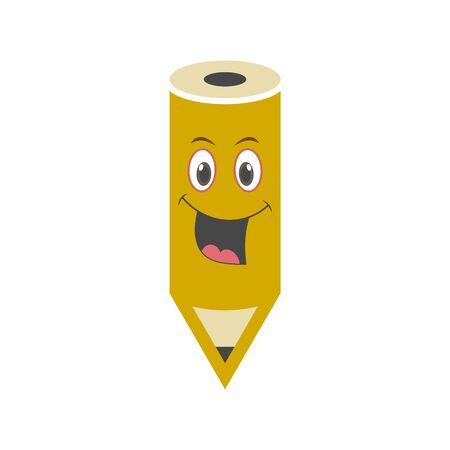 Wood Pencil icon,   Back to school sign Illustration
