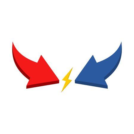Icono de conflicto de intereses