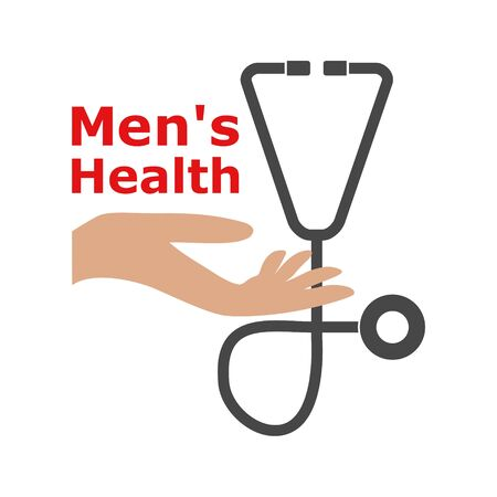 Men's Health text, Men's Health logo or icon