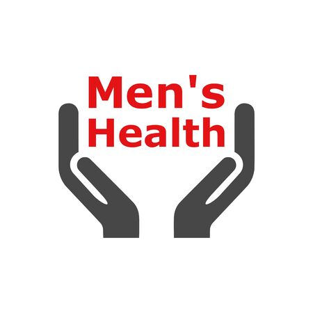 Men's Health text, Men's Health logo or icon