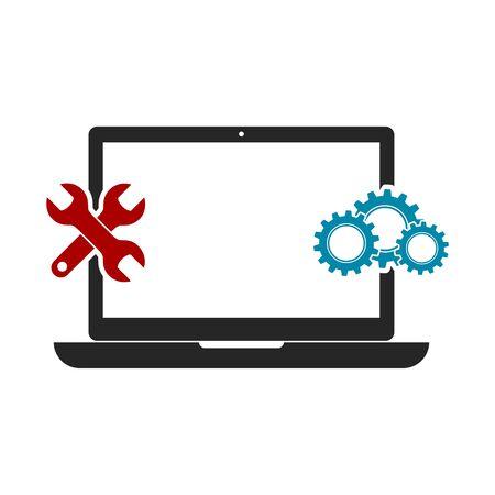 Laptop Repair Icon