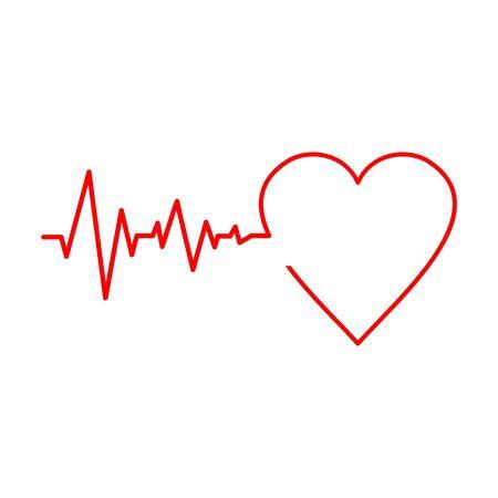 Pulse Life cardiogram heart icon