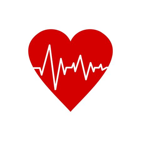 Pulse Life cardiogram heart icon