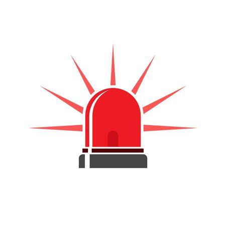 Flasher icon, Siren icon, Alarm siren
