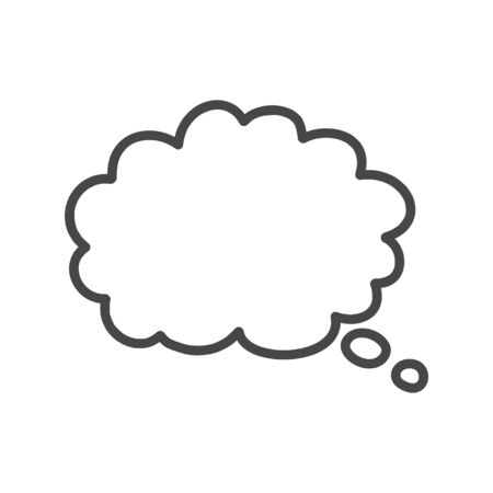 Thought cloud, Thought cloud icon