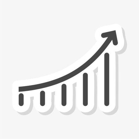 Growth chart sticker