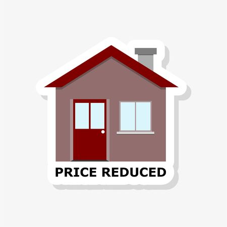 Price reduced with house sticker