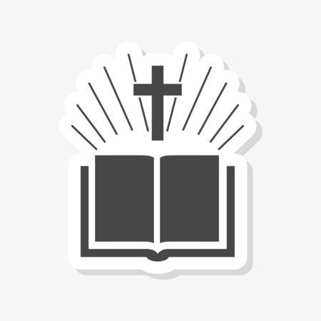 Holy Bible Flat sticker