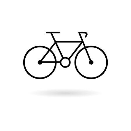 bike icon Illustration