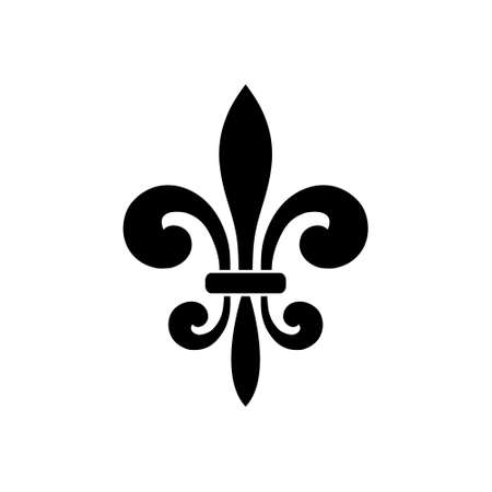 Fleur de lis icon, Fleur-de-lis sign, Fleur de lis logo