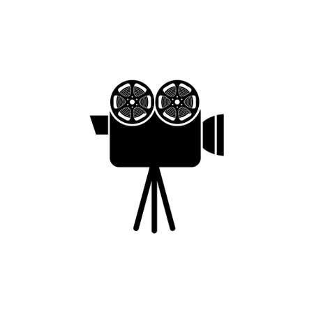 Cinema camera icon or logo