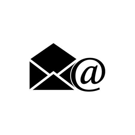 Email open, open email, read email icon or logo