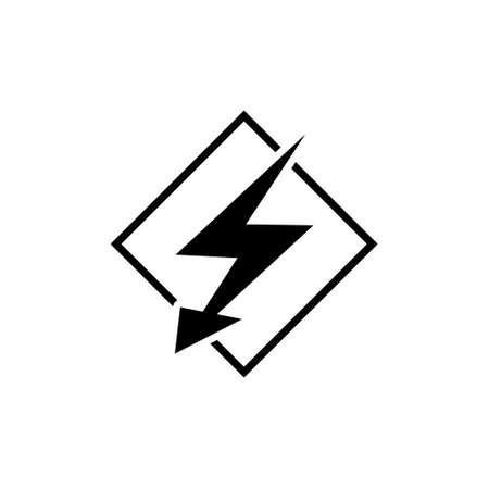 Lightning bolt icon or logo