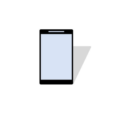 Smartphone technology icon illustration design