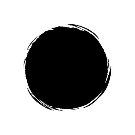 Black  burst on white background