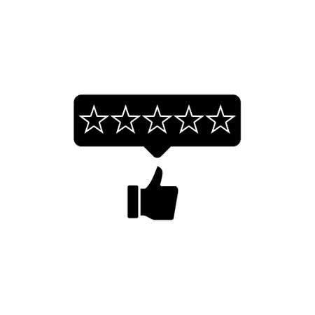 Positive feedback concept icon or sign 矢量图像