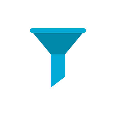 Funnel icon or sign