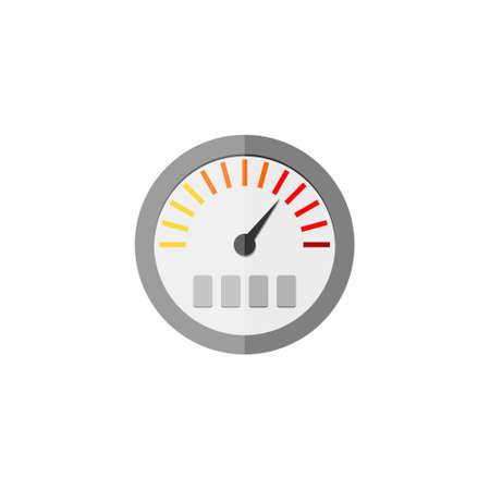 Pressure gauge icon, Manometer icon, Pressure meter