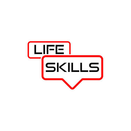 Life Skills sign or icon