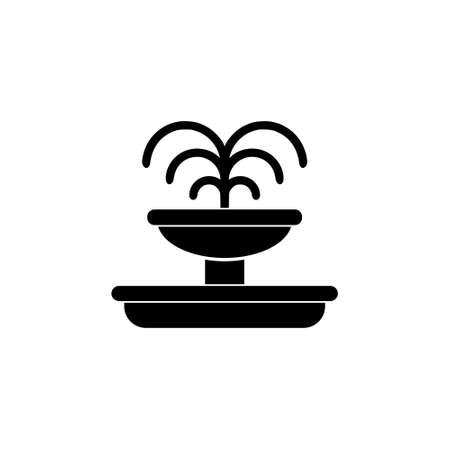 Fountain icon or logo 일러스트