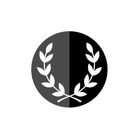 Laurel Wreath icon or logo