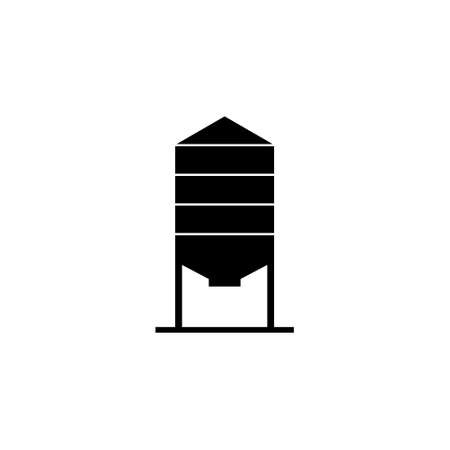 Silos storage icon, Silo icon from Agriculture 向量圖像