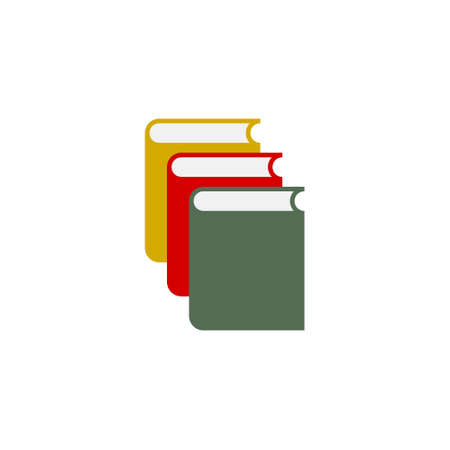 Colorful books icon Vecteurs