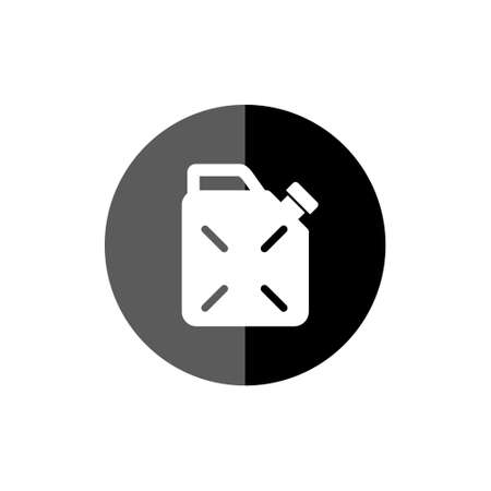Jerrycan fuel icon, Gas can, Canister of gasoline