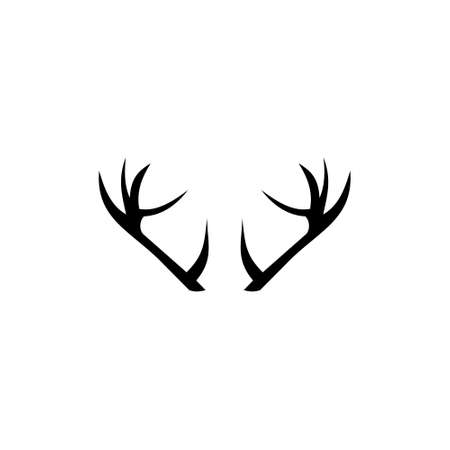 Deer horns icon, Antlers icon