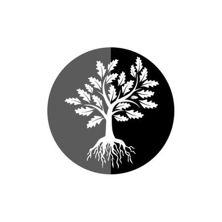 Logos of Tree leaf, Tree icon