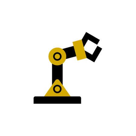 Automation icon, Robotic arm Icon 일러스트