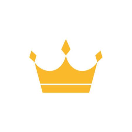 Gold crown icon 일러스트