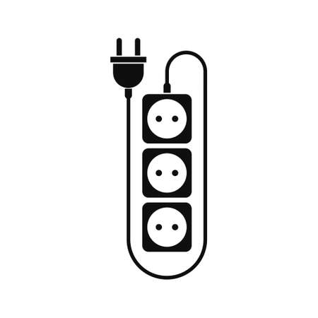 Extension cord icon, Power outlet