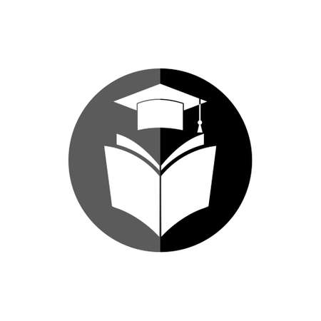 Education concept, Education button or icon